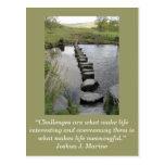 Inspirational card; Challenge 1 - Post Cards