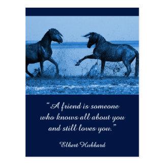 Inspirational card Friendship 1 Postcard
