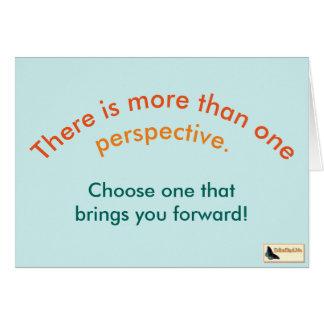 Inspirational Card - Keep Moving