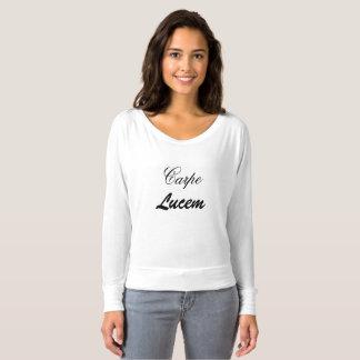 "Inspirational ""Carpe Lucem"" T-shirt"