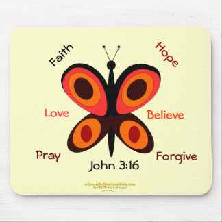 Inspirational Christian Mouse Pad