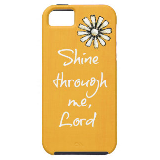Inspirational Christian Quote Affirmation Prayer Case For iPhone 5/5S