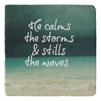 Inspirational, Comforting God Quote Trivet
