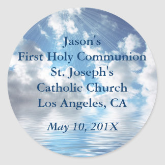 Inspirational First Holy Communion Stickers