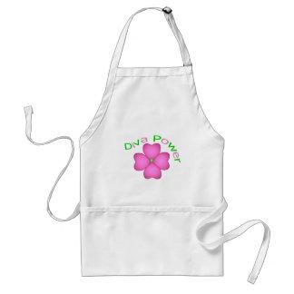 Inspirational Flower Diva Power Standard Apron