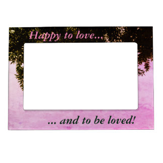 Inspirational Frame - Love Magnetic Picture Frame