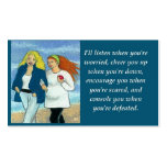 Inspirational Friendship / Love Wallet Size Card