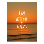 Inspirational God Quote: Bible Verse I am With You