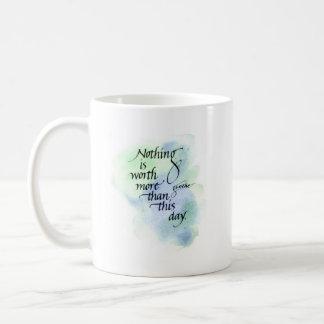 Inspirational Goethe mug