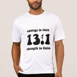 Inspirational half marathon tees