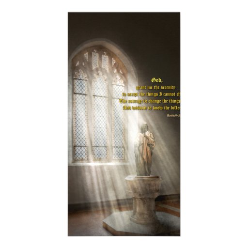 Inspirational - Heavenly Father - Senrenity Prayer Picture Card