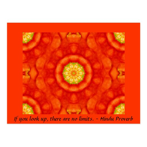 inspirational Hindu Proverb from India Postcards