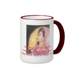 Inspirational inner awareness and self enrichment ringer mug