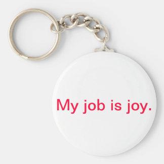 Inspirational keychain - joy