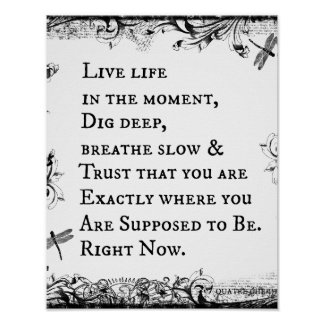 Inspirational Life Quote Posters