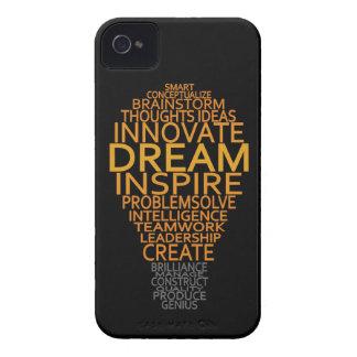 Inspirational Light Bulb custom Blackberry case