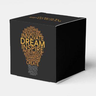 Inspirational Light Bulb custom favor boxes