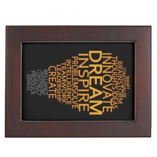 Inspirational Light Bulb custom keepsake box