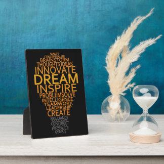 Inspirational Light Bulb custom plaque