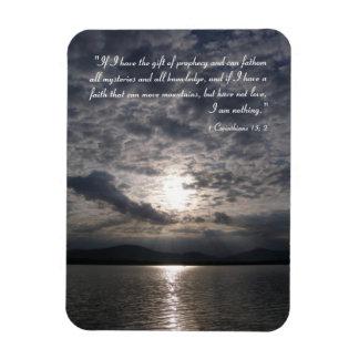 Inspirational Magnet - 1 Corinthians 13; 2