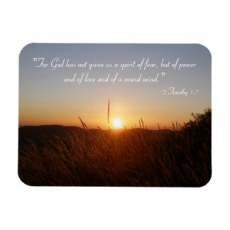 Inspirational Magnet - 2 Timothy 1;7