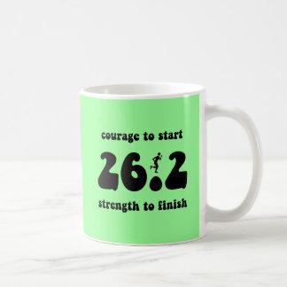 Inspirational marathon classic white coffee mug