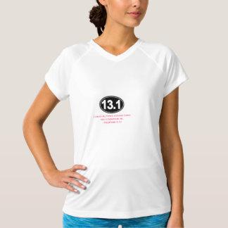 Inspirational Marathon Shirt - Philippians 4:13