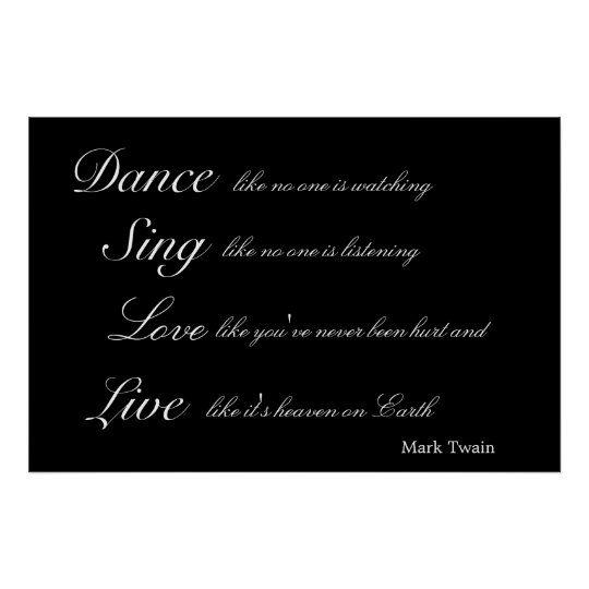 Inspirational Mark Twain Poster Art Print