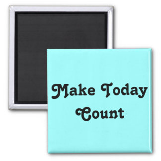 inspirational Messages Square Magnet