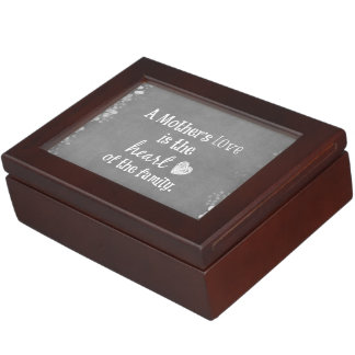 Inspirational Mom Quote Keepsake Box