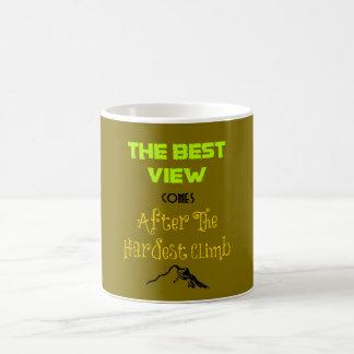 Inspirational Motivating Quote Typography Coffee Mug