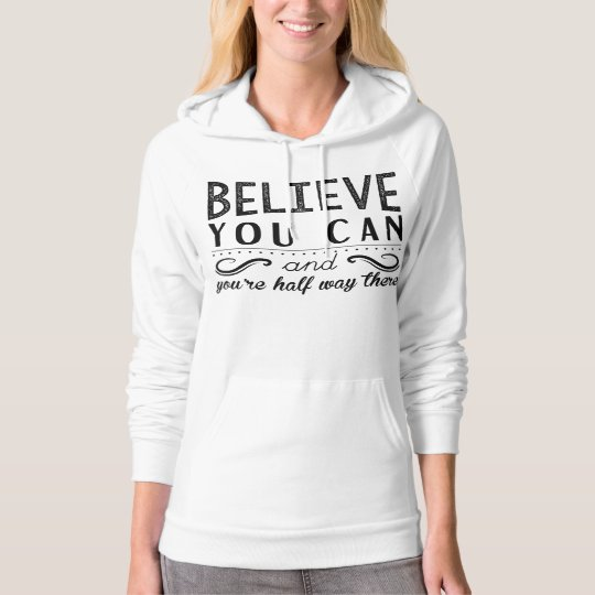 Inspirational motivational quote Pullover Hoodie
