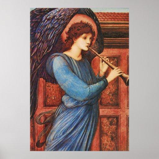 Inspirational Musical Angel Fine Art Poster