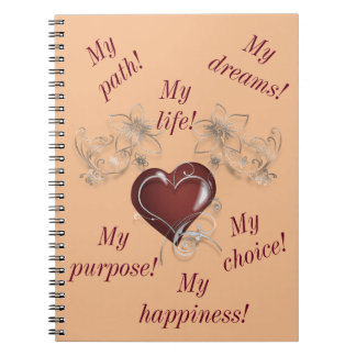 Inspirational Notebook - Be You