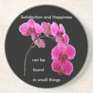 Inspirational Orchid Coaster
