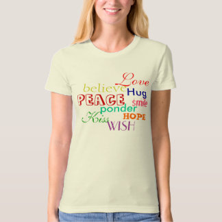 Inspirational Organic Fitted T-Shirt