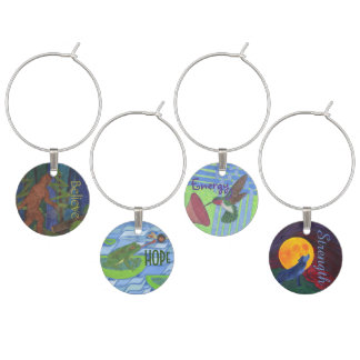 Inspirational Pacific Northwest - Set 1 Wine Charms