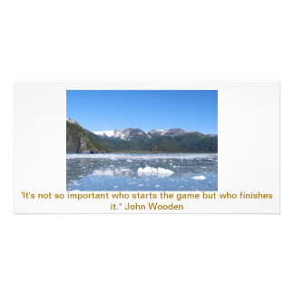 Inspirational Personalized Photo Card