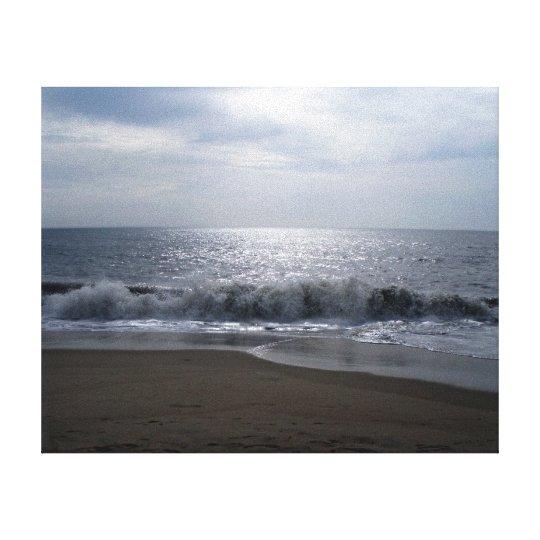 Inspirational Photos Canvas Art Beach at Dawn