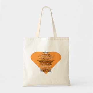 Inspirational Poem Tote Bag