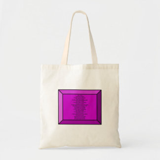 Inspirational Poem Bags