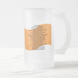 Inspirational Poem Coffee Mugs