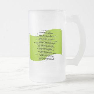 Inspirational Poem Mug