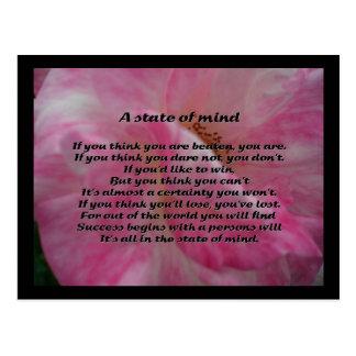 Inspirational Poem Postcard