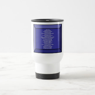 Inspirational Poem Stainless Steel Travel Mug