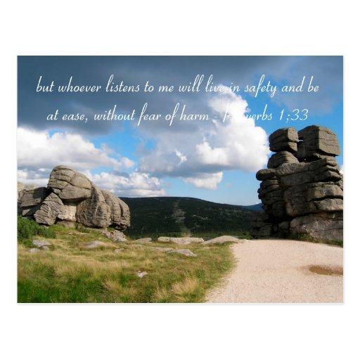 Inspirational - Postcard