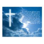 Inspirational Postcard Jeremiah 29; 11-14