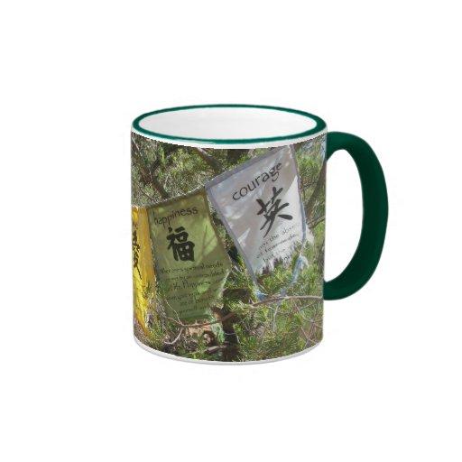 Inspirational Prayer Flags Coffee Mugs