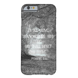 Inspirational Proverbs Bible Verse Barely There iPhone 6 Case