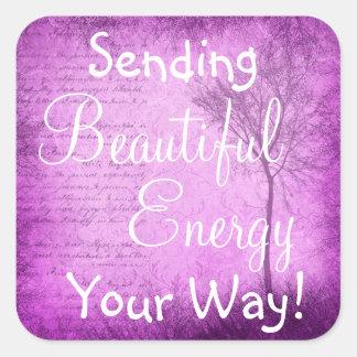 Inspirational Quote Beautiful Energy  Sticker